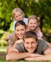 Gesundheitsvorsorge Krankheitsprävention Familie