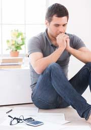 Psychotherapie Mann Depression