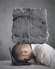Stress Stressmangement Burnout Druck Computer