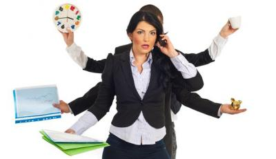 Stressmanagement Multitasking Burnout